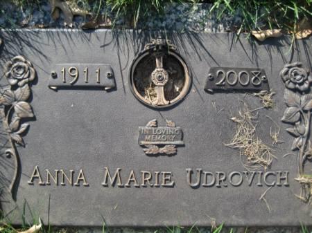 UDROVICH, ANNA MARIE - Polk County, Iowa   ANNA MARIE UDROVICH