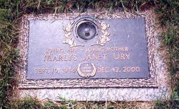 MOORE URY, MARLYS - Polk County, Iowa   MARLYS MOORE URY