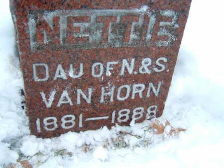 VAN HORNE, NETTIE - Polk County, Iowa | NETTIE VAN HORNE