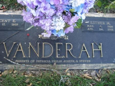 VANDERAH, ESTHER M - Polk County, Iowa | ESTHER M VANDERAH
