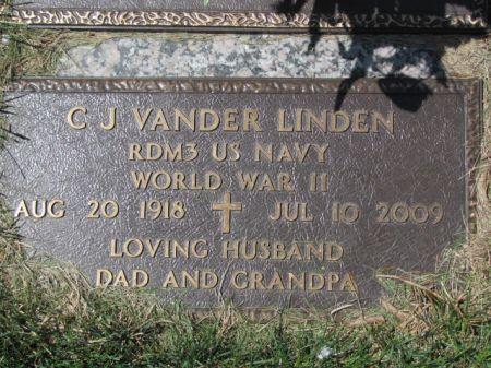 VANDER LINDEN, C.J. - Polk County, Iowa   C.J. VANDER LINDEN