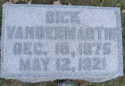VANDERMARTIN, DICK - Polk County, Iowa | DICK VANDERMARTIN