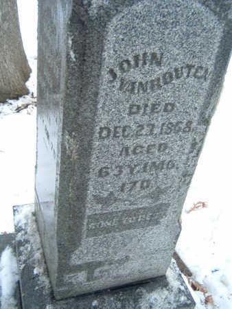 VANHOUTEN, JOHN - Polk County, Iowa | JOHN VANHOUTEN