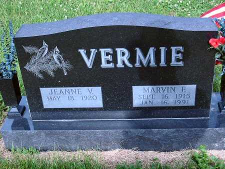 VERMIE, MARVIN F. - Polk County, Iowa   MARVIN F. VERMIE
