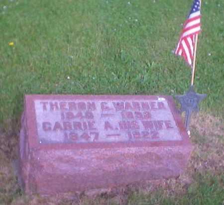 WARNER, THERON E. - Polk County, Iowa | THERON E. WARNER