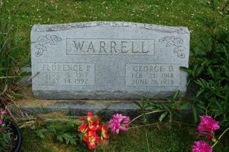WARRELL, GEORGE O. - Polk County, Iowa   GEORGE O. WARRELL