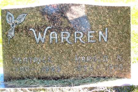 WARREN, BEATRICE - Polk County, Iowa | BEATRICE WARREN