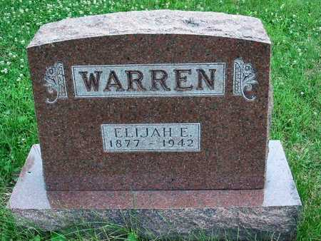 WARREN, ELIJAH E. - Polk County, Iowa | ELIJAH E. WARREN