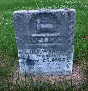 WARREN, ELIJAH H. - Polk County, Iowa | ELIJAH H. WARREN