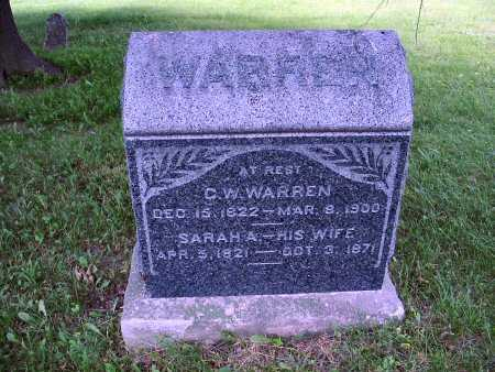 WARREN, G. W. - Polk County, Iowa | G. W. WARREN
