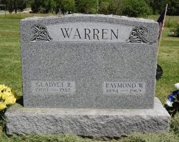 WARREN, RAYMOND W. - Polk County, Iowa | RAYMOND W. WARREN