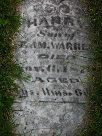 WARREN, HARRY - Polk County, Iowa | HARRY WARREN