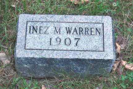 WARREN, INEZ M - Polk County, Iowa   INEZ M WARREN