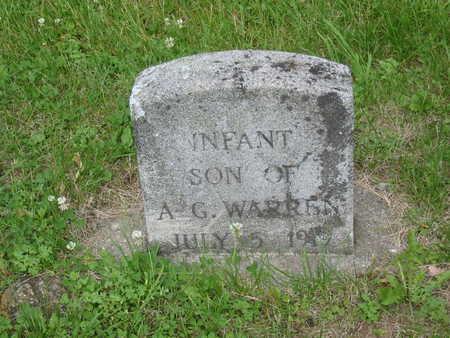 WARREN, INFANT SON - Polk County, Iowa | INFANT SON WARREN