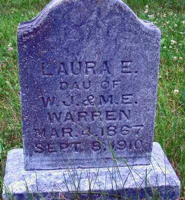 WARREN, LAURA E. - Polk County, Iowa   LAURA E. WARREN