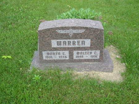 WARREN, MANTA E. - Polk County, Iowa | MANTA E. WARREN