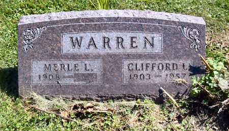 WARREN, MERLE L. - Polk County, Iowa | MERLE L. WARREN