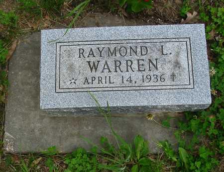 WARREN, RAYMOND L. - Polk County, Iowa | RAYMOND L. WARREN