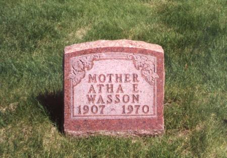 WASSON, ATHA - Polk County, Iowa | ATHA WASSON