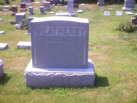 WEATHERBY, MAIN STONE - Polk County, Iowa | MAIN STONE WEATHERBY