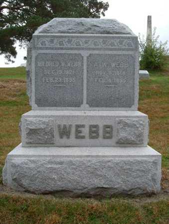 WEBB, MILDRED - Polk County, Iowa | MILDRED WEBB