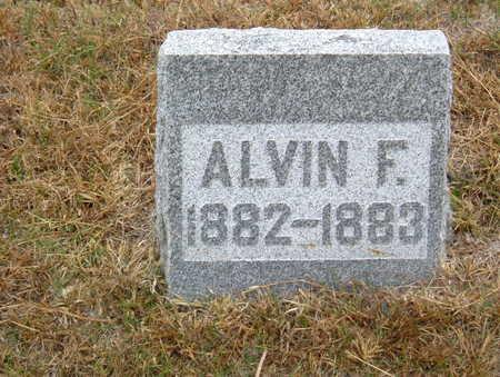 WEBB, ALVIN F. - Polk County, Iowa   ALVIN F. WEBB