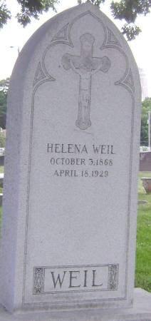 WEIL, HELENA - Polk County, Iowa | HELENA WEIL