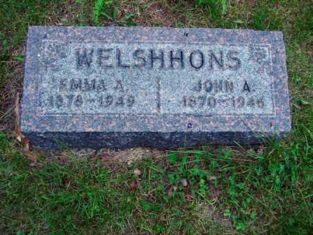 WELSHHONS, JOHN A. - Polk County, Iowa | JOHN A. WELSHHONS