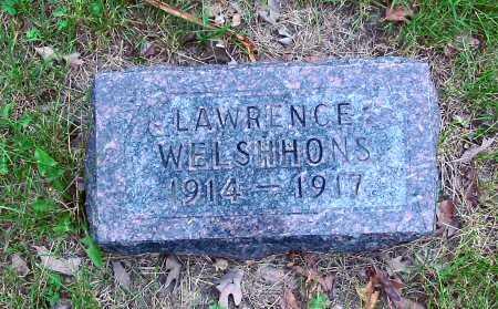 WELSHHONS, LAWRENCE - Polk County, Iowa   LAWRENCE WELSHHONS