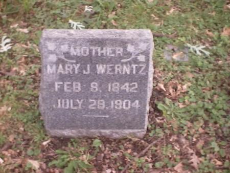 WERNTZ, MARY J. - Polk County, Iowa | MARY J. WERNTZ