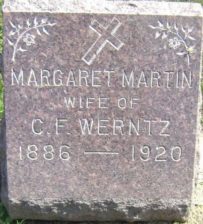 MARTIN WERNTZ, MARGARET - Polk County, Iowa | MARGARET MARTIN WERNTZ