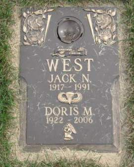 WEST, DORIS  M. - Polk County, Iowa | DORIS  M. WEST