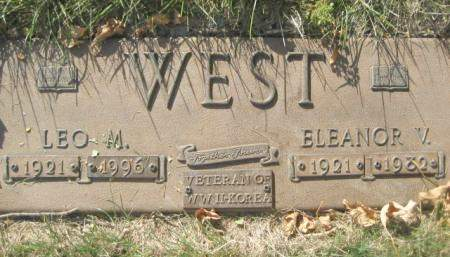 WEST, LEO M - Polk County, Iowa | LEO M WEST