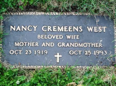WEST, NANCY - Polk County, Iowa   NANCY WEST