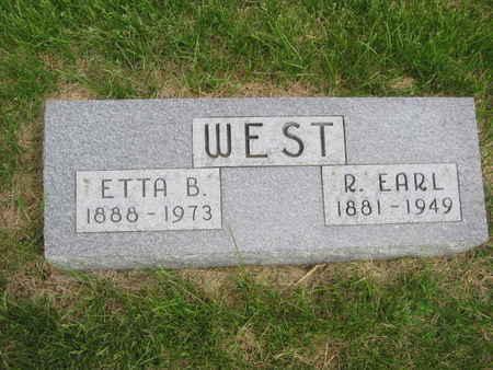 WEST, ETTA B. - Polk County, Iowa | ETTA B. WEST