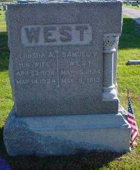 WEST, JERUSHA A. - Polk County, Iowa | JERUSHA A. WEST