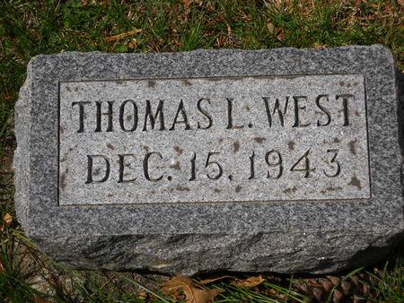 WEST, THOMAS L. - Polk County, Iowa | THOMAS L. WEST