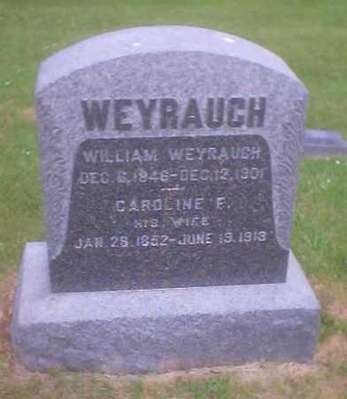 WEYRAUCH, WILLIAM - Polk County, Iowa | WILLIAM WEYRAUCH