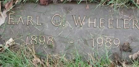 WHEELER, EARL  C. - Polk County, Iowa | EARL  C. WHEELER