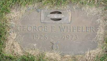 WHEELER, GEORGE  F. - Polk County, Iowa   GEORGE  F. WHEELER