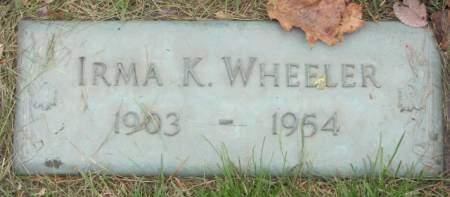 WHEELER, IRMA  K. - Polk County, Iowa   IRMA  K. WHEELER
