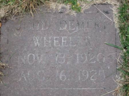 WHEELER, JUDD  DEMERT - Polk County, Iowa | JUDD  DEMERT WHEELER