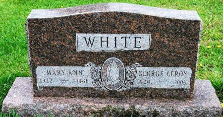 WHITE, MARY ANN - Polk County, Iowa | MARY ANN WHITE