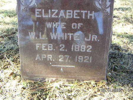WHITE, ELIZABETH - Polk County, Iowa   ELIZABETH WHITE