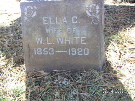 CLAPP WHITE, ELLA - Polk County, Iowa | ELLA CLAPP WHITE