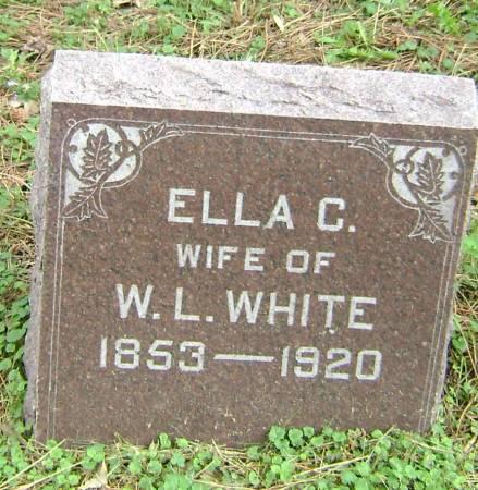 WHITE, ELLA C. - Polk County, Iowa   ELLA C. WHITE