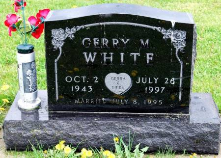 WHITE, GERRY MARK - Polk County, Iowa   GERRY MARK WHITE