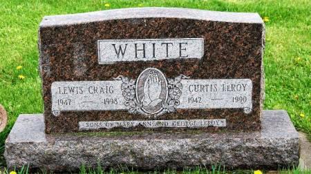 WHITE, LEWIS CRAIG - Polk County, Iowa   LEWIS CRAIG WHITE