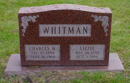WHITMAN, LIZZIE - Polk County, Iowa | LIZZIE WHITMAN