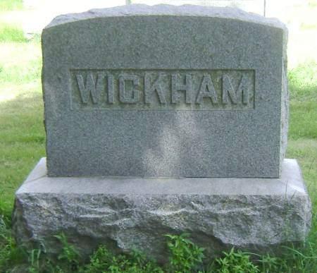 WICKHAM, MARGARET D - Polk County, Iowa | MARGARET D WICKHAM